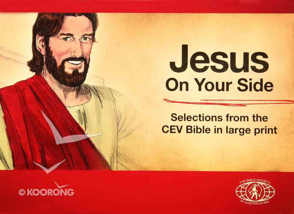 Jesus on Your Side Red (Cev) Booklet