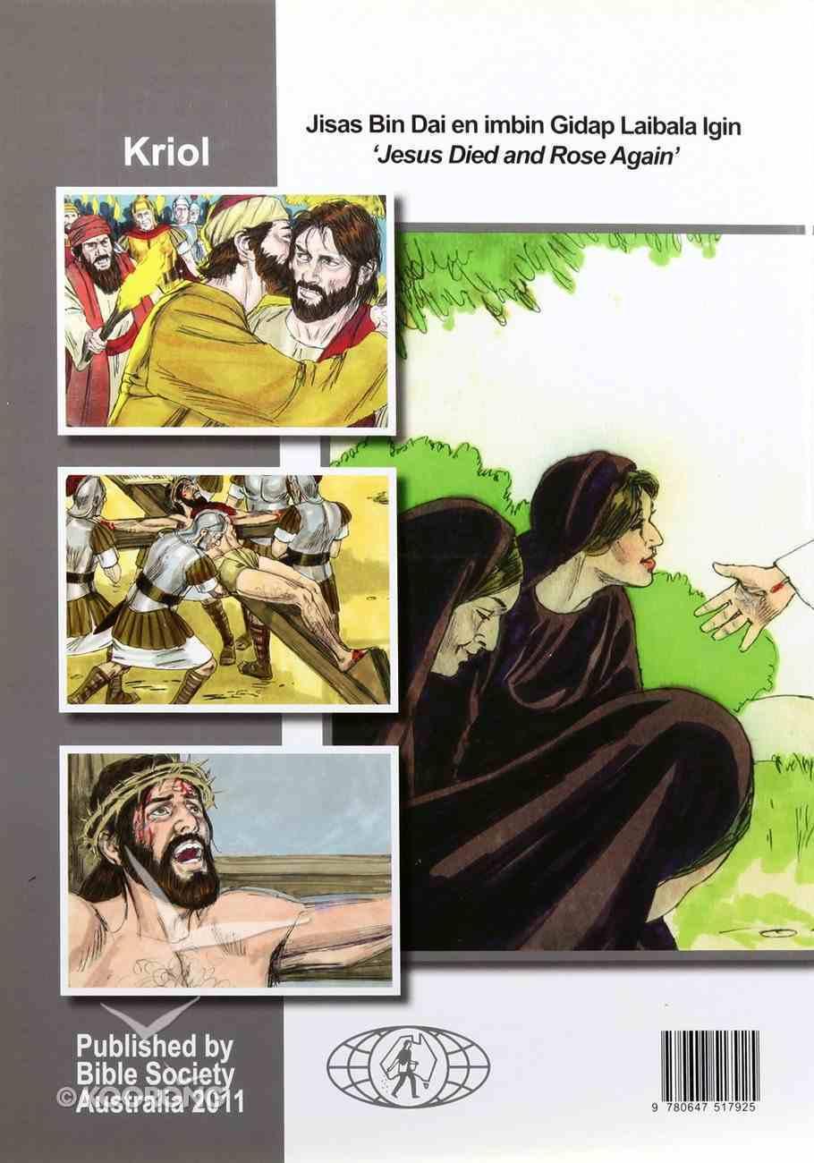 Jesus Died & Rose Again Easter Activity Book (Kriol) Booklet