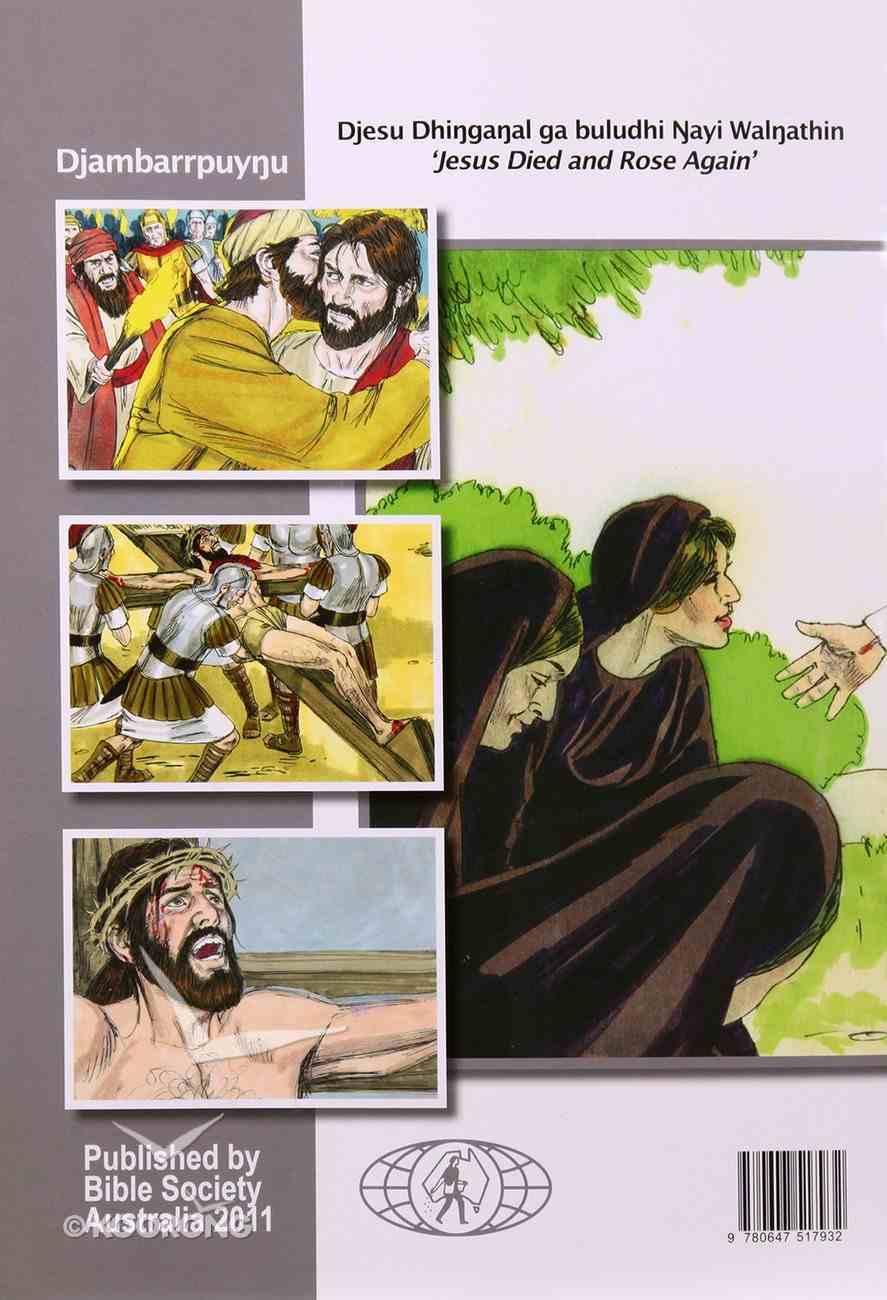 Jesus Died & Rose Again: Easter Activity Book (Djambarrpuyngu) Booklet