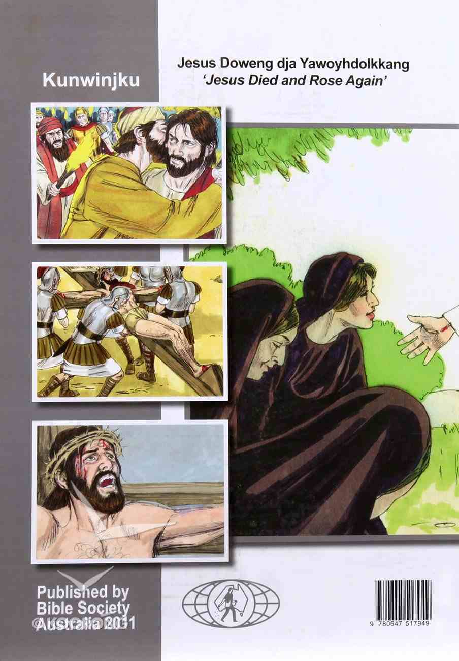 Jesus Died & Rose Again Easter Activity Book (Kunwinjku) Booklet