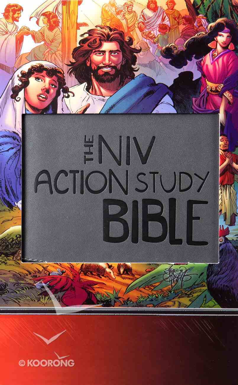 NIV Action Study Bible Premium Imitation Leather