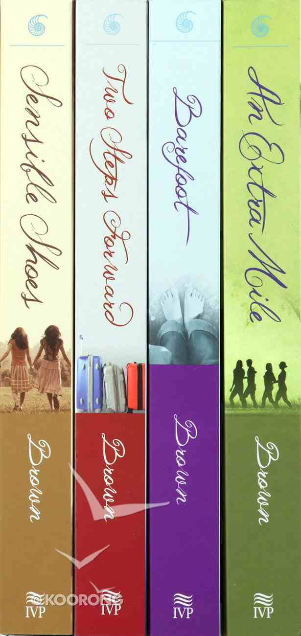 Boxed Set (Includes Sensible Shoes, Two Steps Forward, Barefoot, and An Extra Mile) (Sensible Shoes Series) Paperback