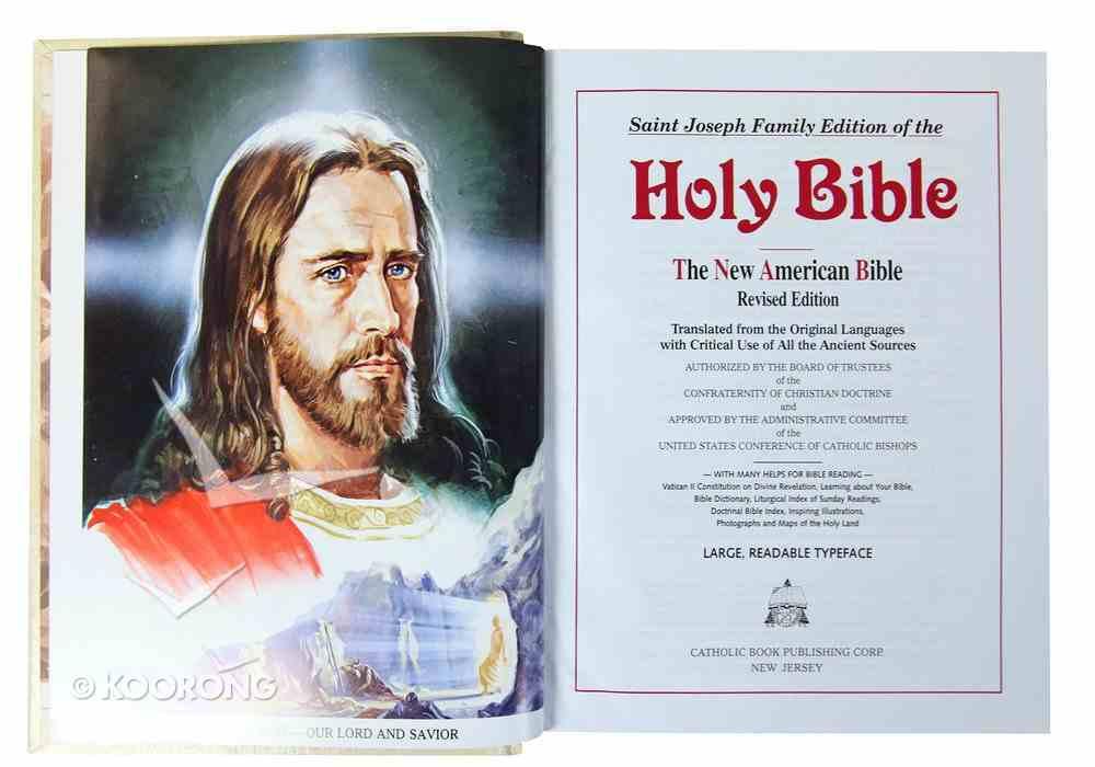 Nab St Joseph Family Edition White Padded Hardback