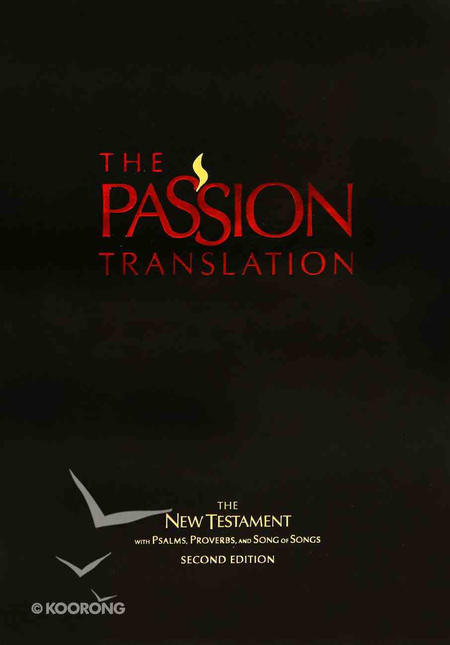 TPT New Testament Black 2nd Edition (With Psalms Proverbs And Song Of Songs) Imitation Leather