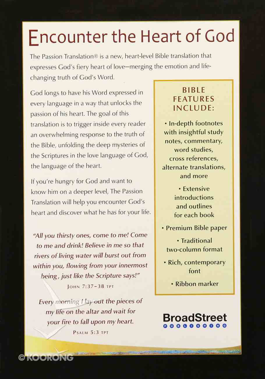 TPT New Testament Brown 2nd Edition (With Psalms Proverbs And Song Of Songs) Imitation Leather
