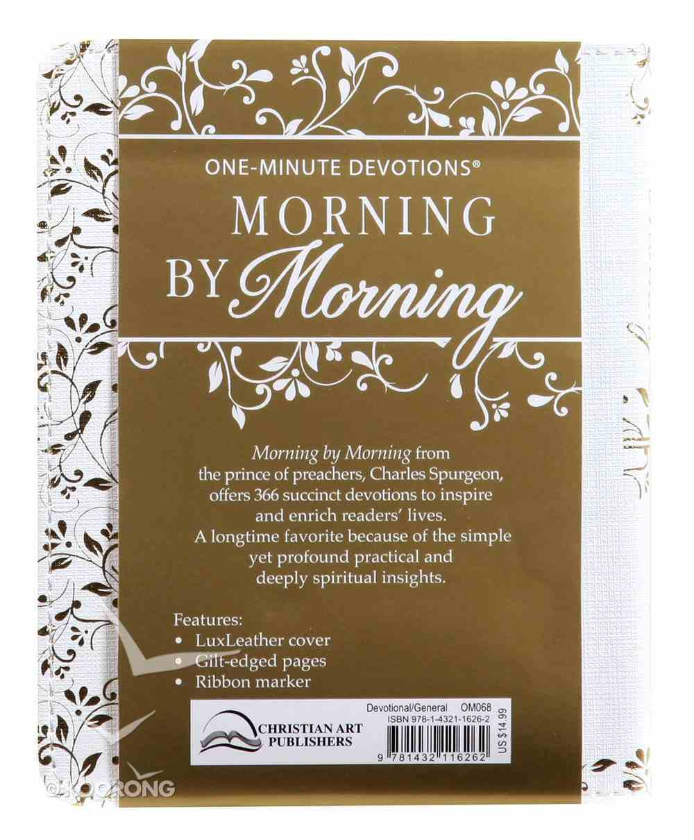 One-Minute Devotions: Morning By Morning Imitation Leather