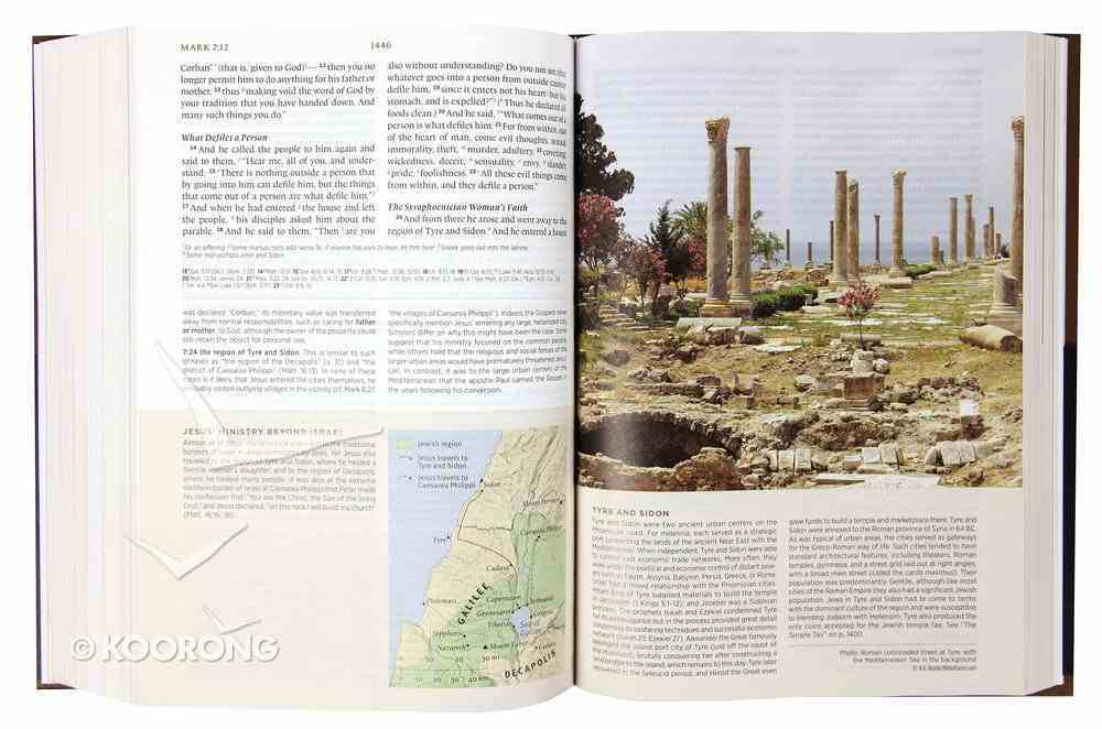 ESV Archaeology Study Bible (Black Letter Edition) Hardback