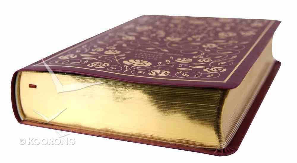 ESV Illuminated Bible Art Journaling Edition Burgundy (Black Letter Edition) Imitation Leather