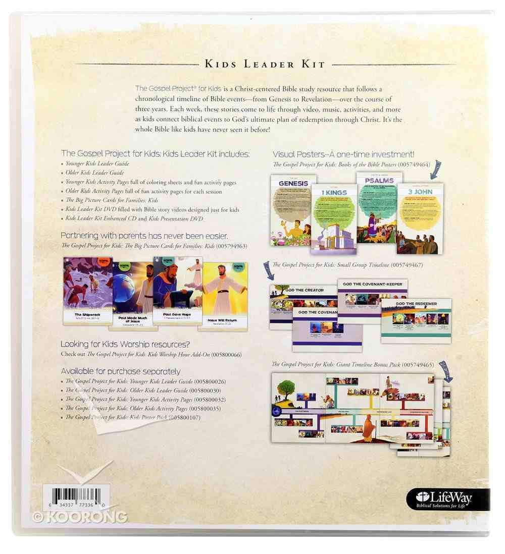 Come Lord Jesus (Leader Kit) (#12 in The Gospel Project For Kids Series) Pack
