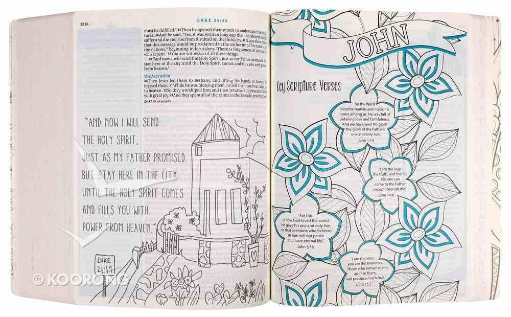 NLT Inspire Bible For Girls (Black Letter Edition) Paperback