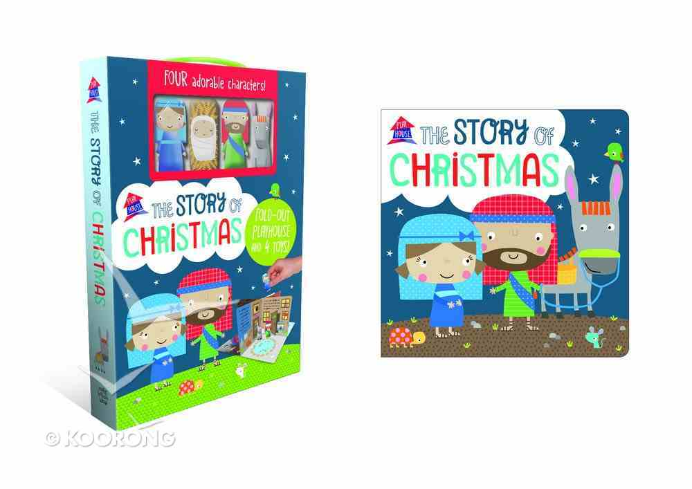The Story of Christmas: A Fold-Out Story Board Book