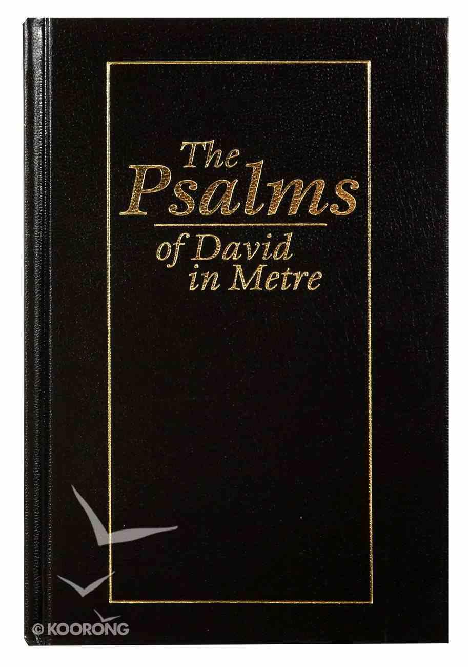 Pocket Metrical Psalms: Psalms in Metre Designed For Signing Hardback
