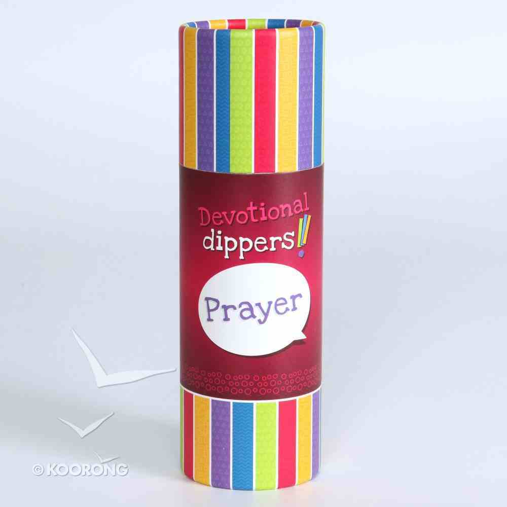 Devotional Dippers: Prayer Game