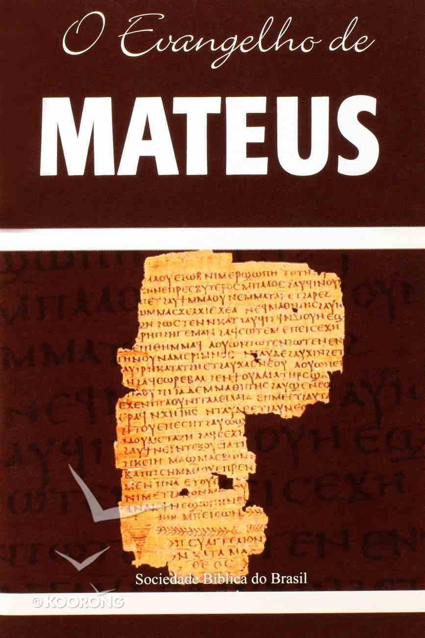 O Evangelho De Mateus (Gospel Of Matthew) Paperback