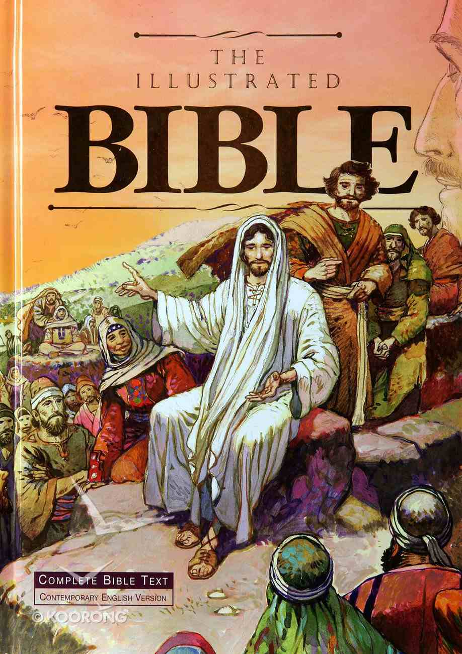 CEV the Illustrated Bible (Peach Background Cover Edition) Hardback
