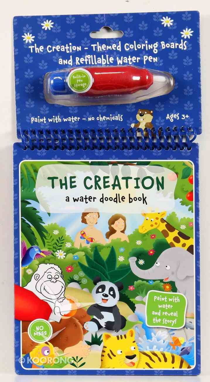 Creation (Water Doodle Book Series) Spiral