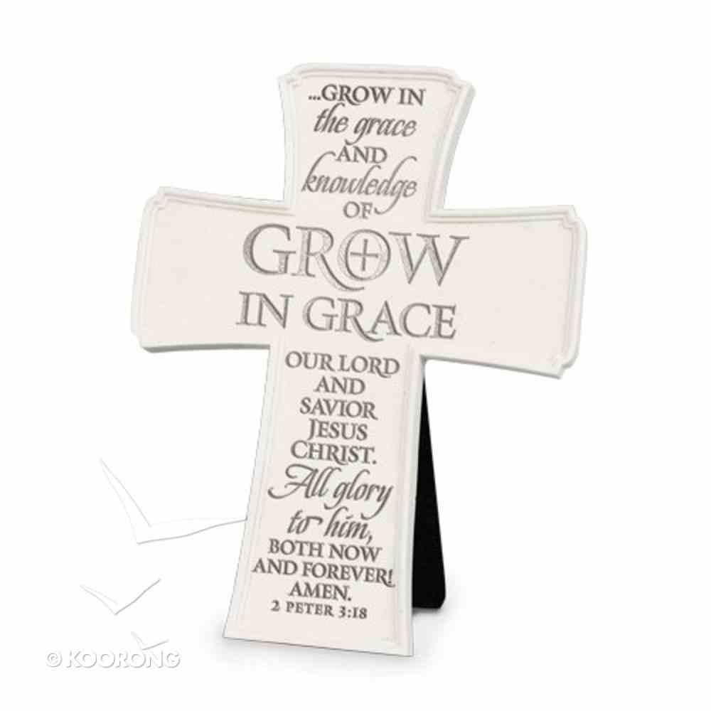 Cross: Grow in Grace (2 Peter 3:18) Homeware