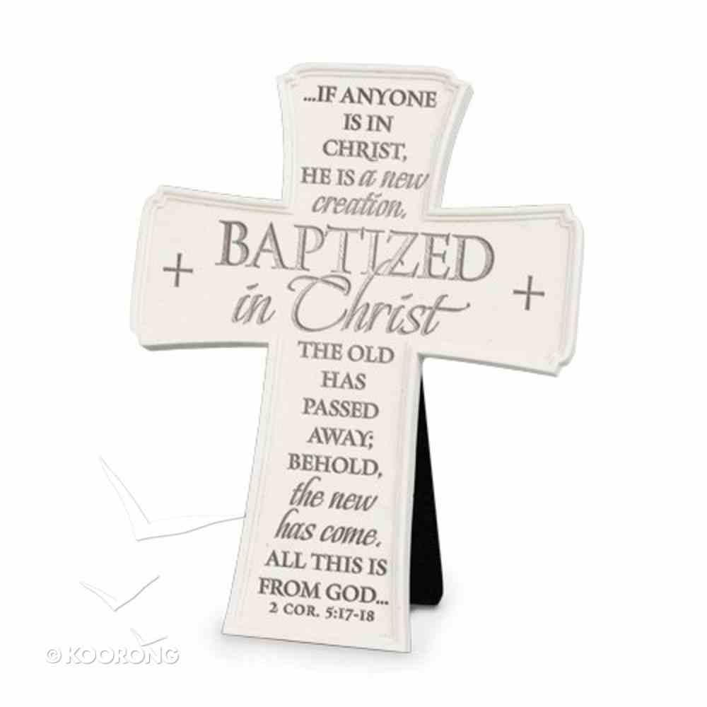 Cross: Baptized in Christ (2 Cor 5:17-18) Homeware