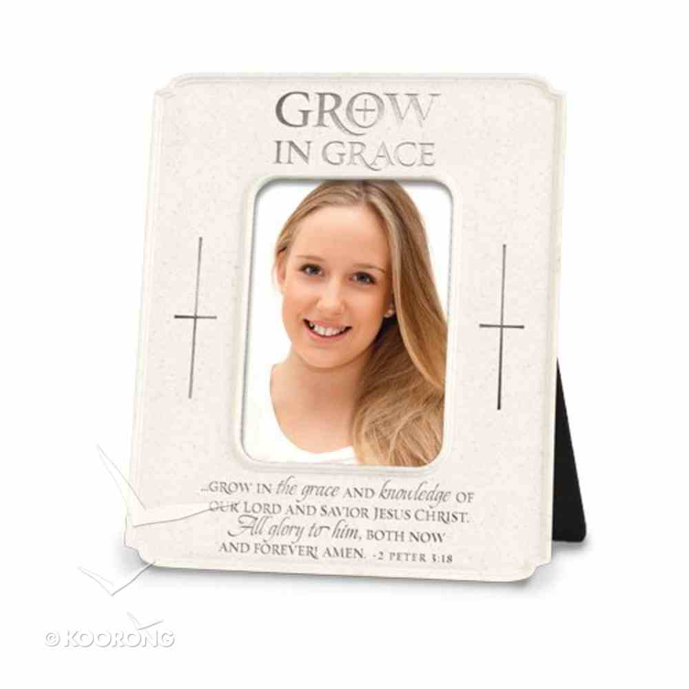 Photo Frame: Grow in Grace (2 Peter 3:18) Homeware