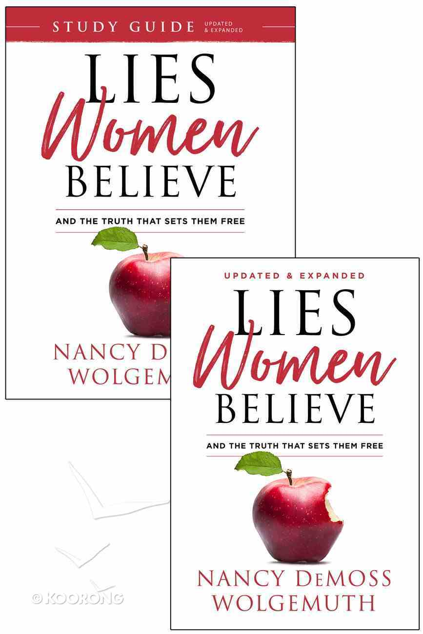 Lies Women Believe and Study Guide For Lies Women Believe (2 Book Set) Pack