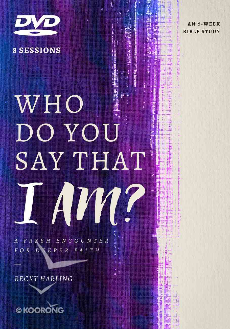 Who Do You Say That I Am?: A Fresh Encounter For Deeper Faith (Dvd) DVD