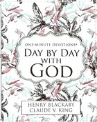One-Minute Devotions: Day By Day With God Imitation Leather