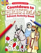 Activity Book: Countdown to Christmas (Reproducible) Paperback