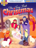 The Very First Christmas (Ages 8-10, Reproducible) (Warner Press Colouring & Activity Books Series) Paperback