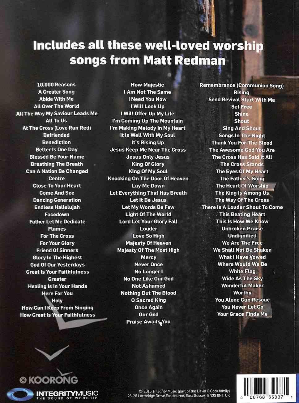 100 Songs From Matt Redman Songbook Paperback