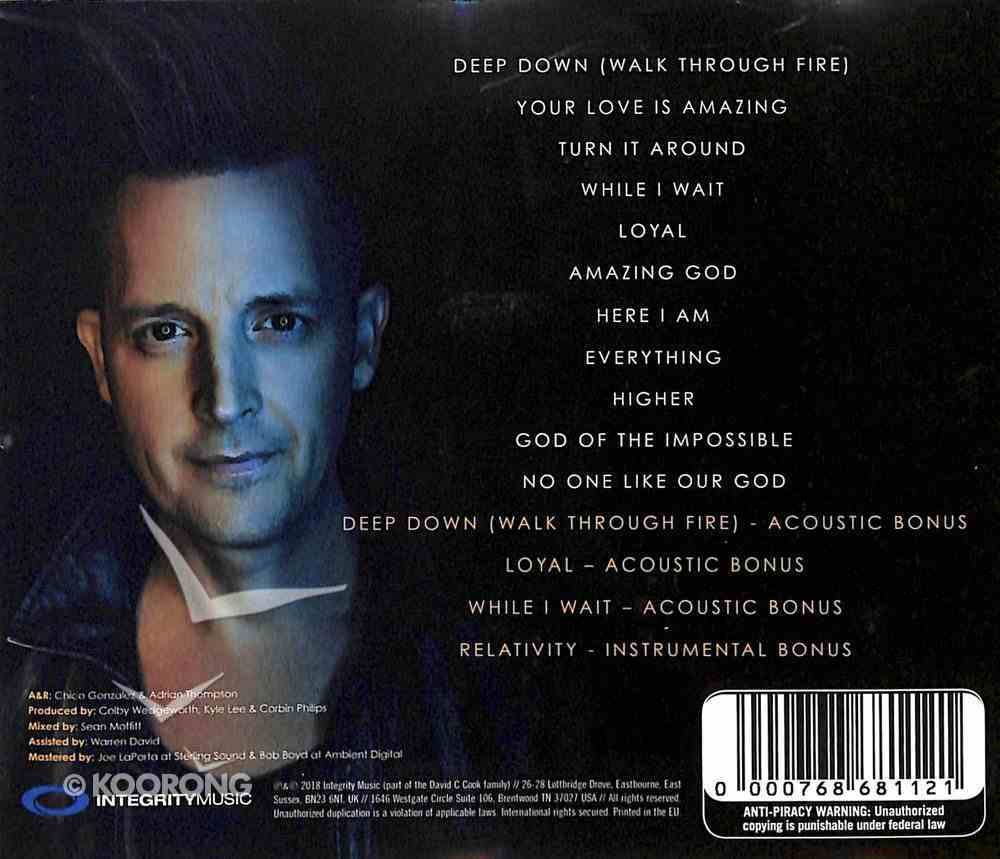 God of the Impossible CD