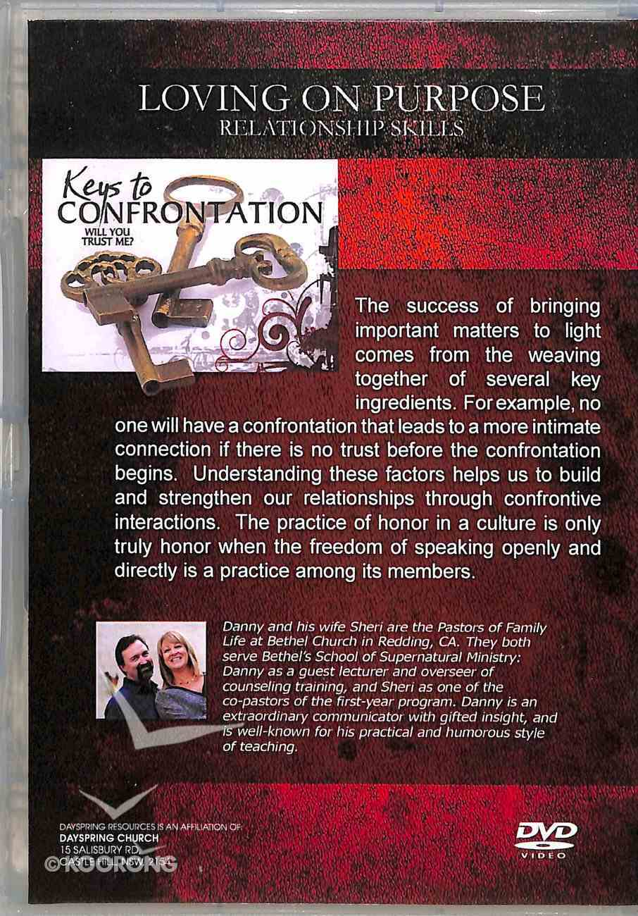 Keys to Confrontation (Loving On Purpose Series) DVD
