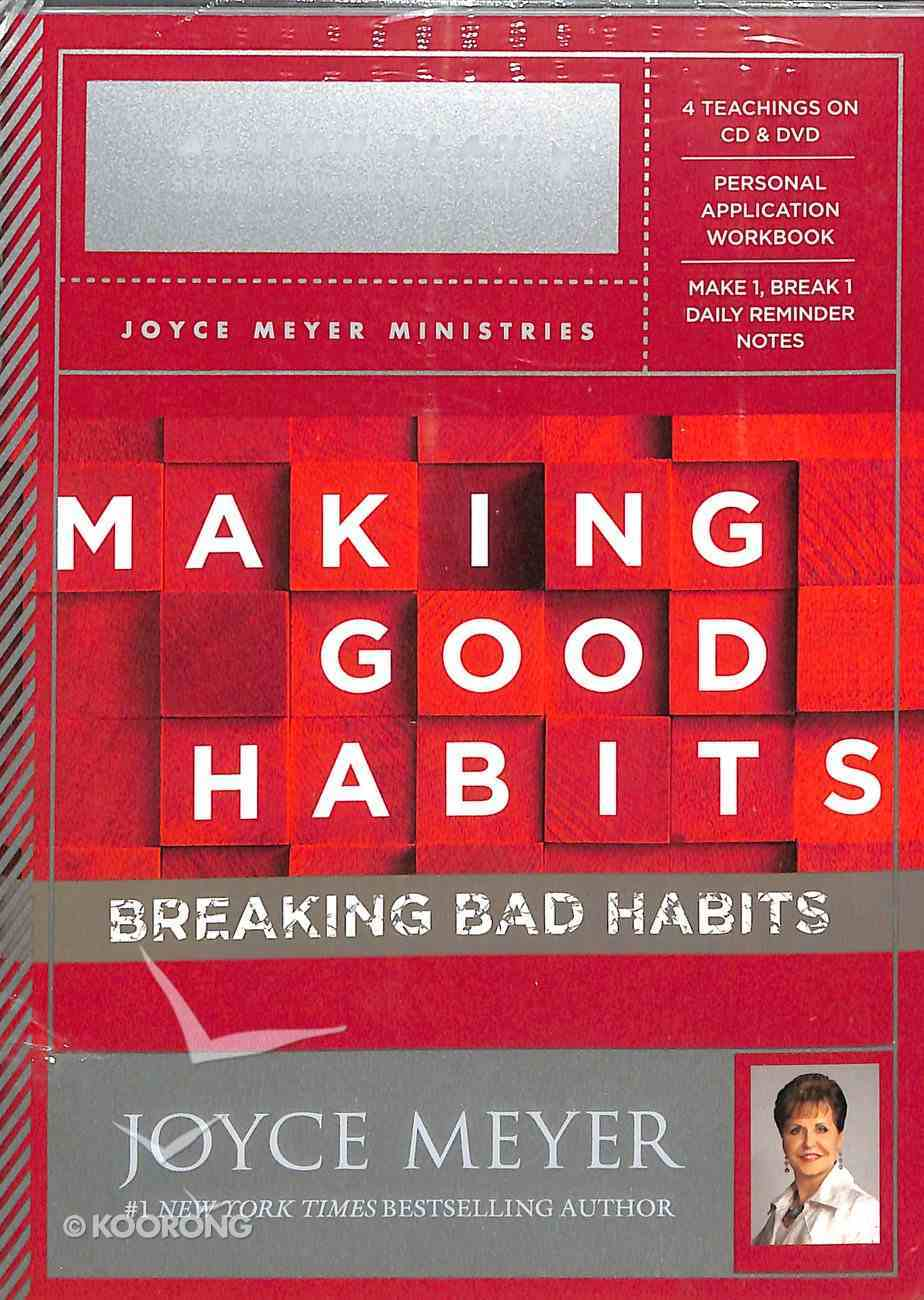 Making Good Habits, Breaking Bad Habits - Action Plan Pack