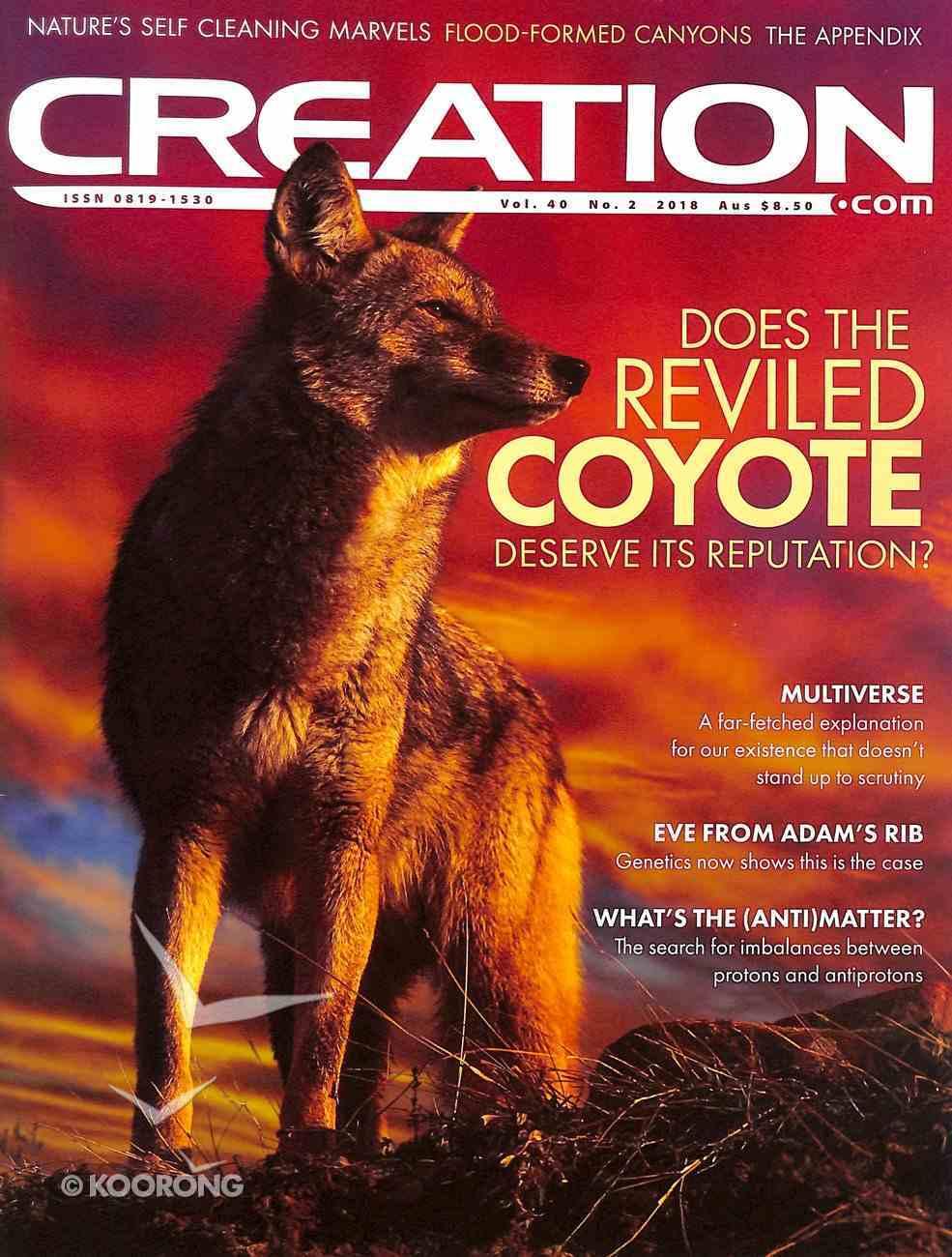 Cen Magazine 2018 #02: Apr-Jun Creation Magazine Magazine