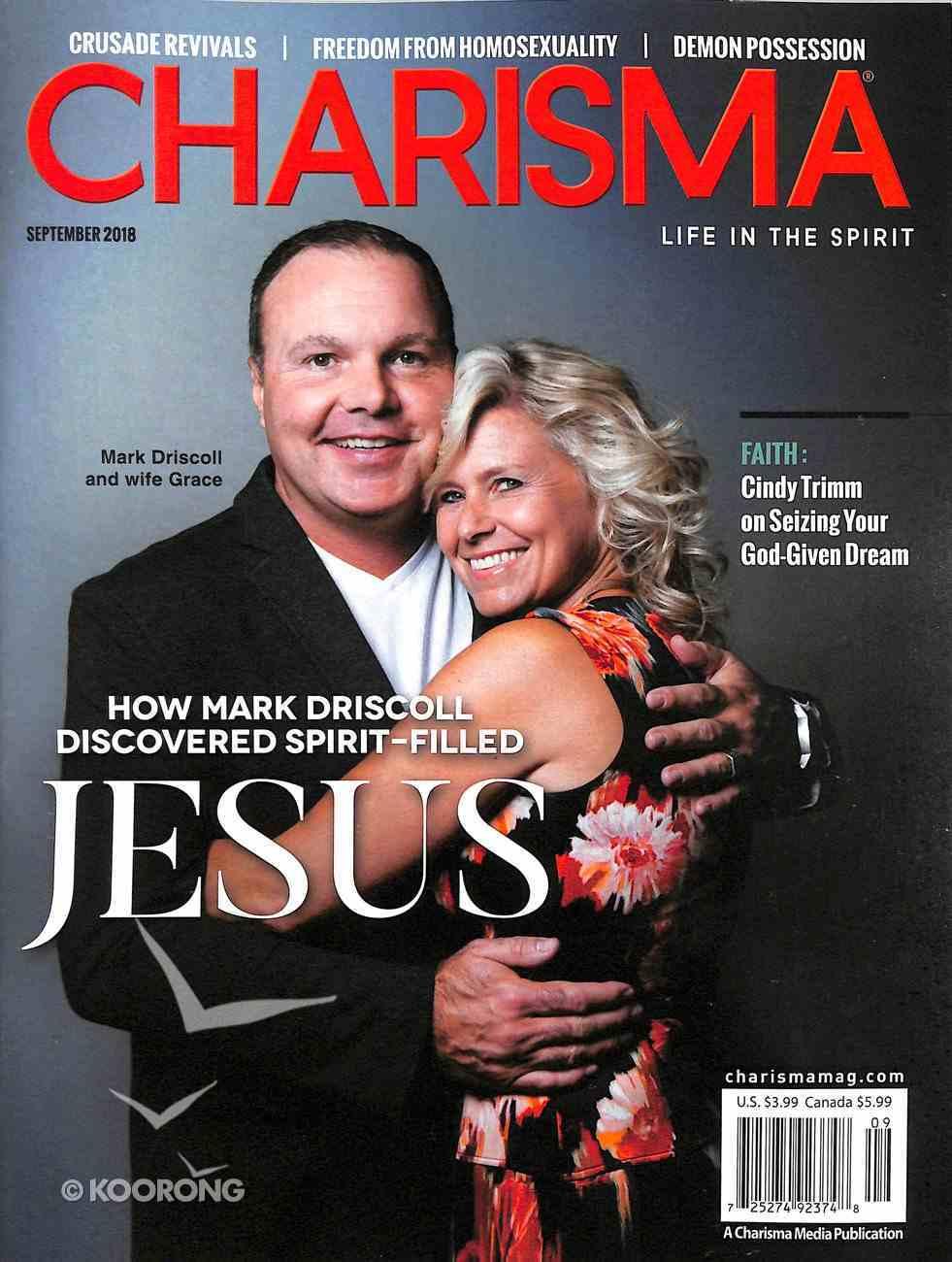 Charisma Magazine 2018 #09: Sep Magazine