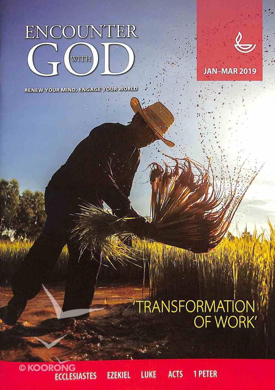 Encounter With God 2019 #01: Jan-Mar Paperback