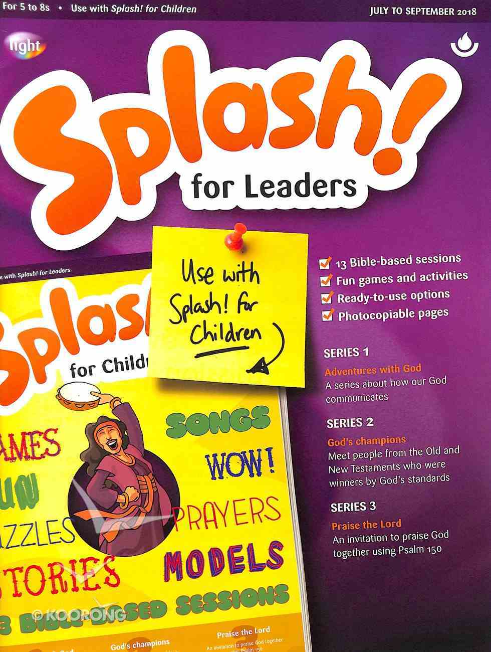 Light: Splash 2018 #03: Jul-Sep Leader's Guide (5-7 Yrs) Paperback