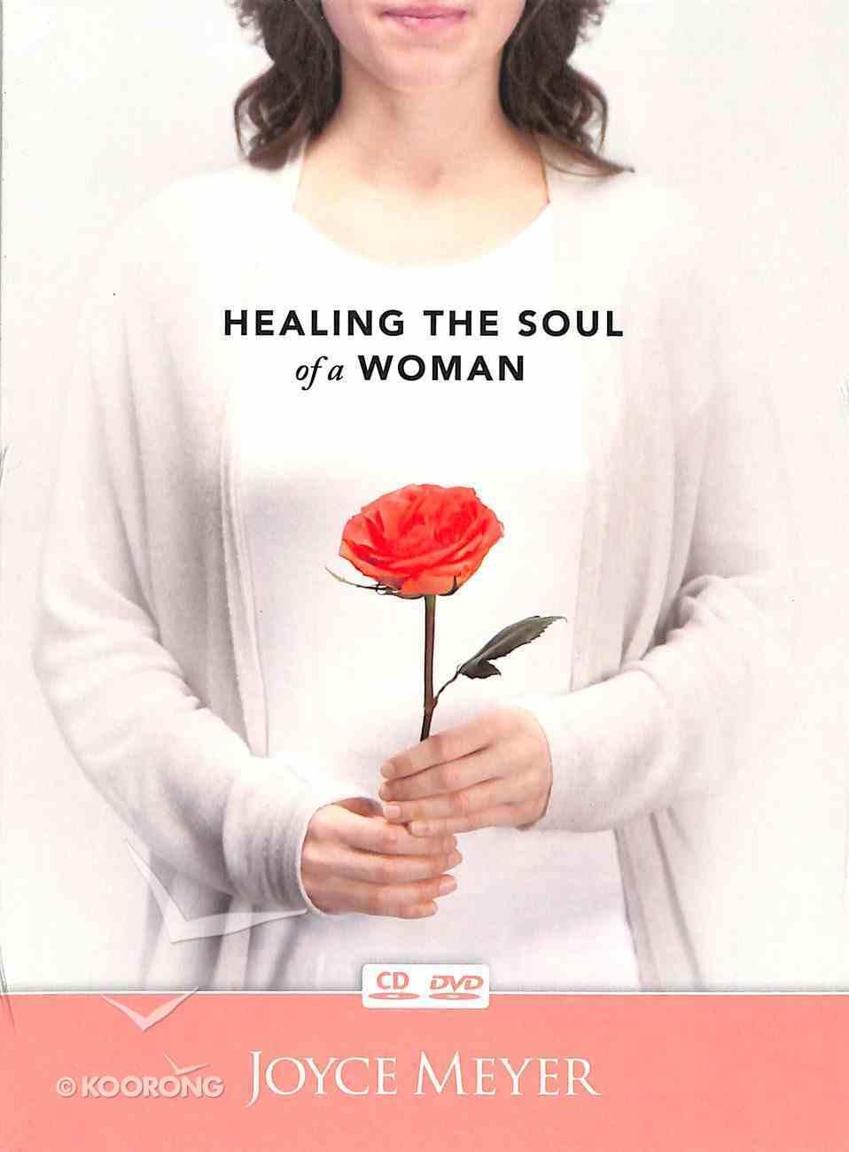 Healing the Soul of a Woman (1 Cd & 1 Dvd - 60mins, Same Teaching) Pack