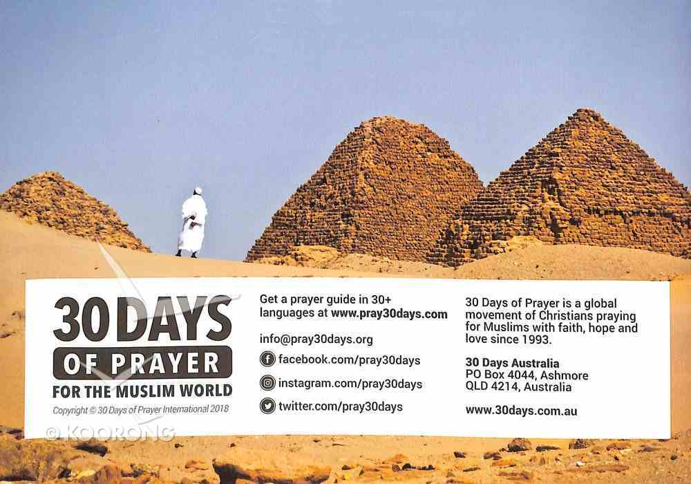 30 Days of Prayer For the Muslim World (2018) Booklet
