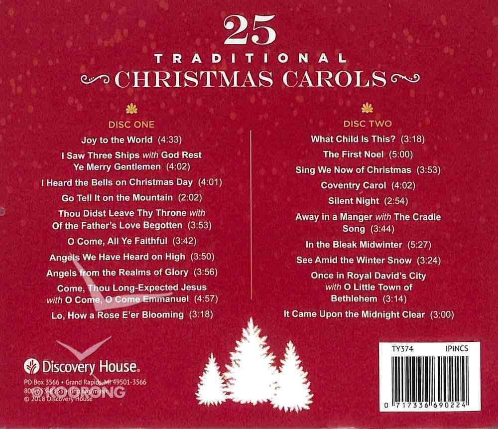 25 Traditional Christmas Carols CD