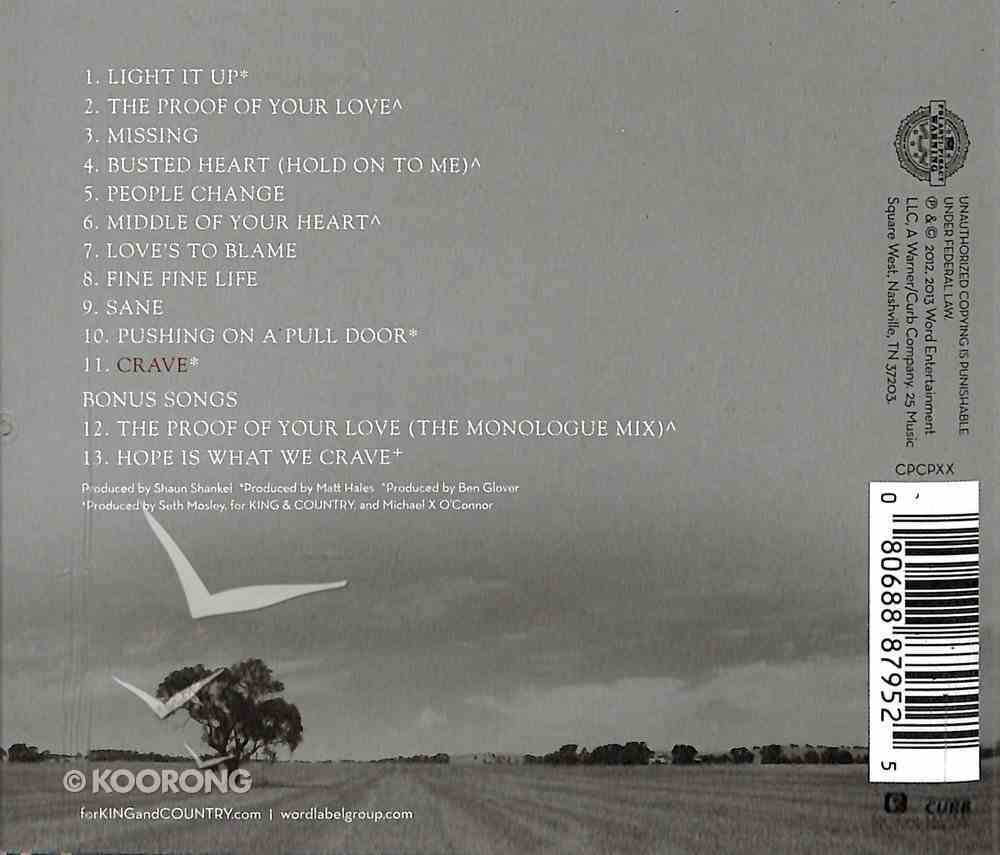 Crave (Re-release) CD