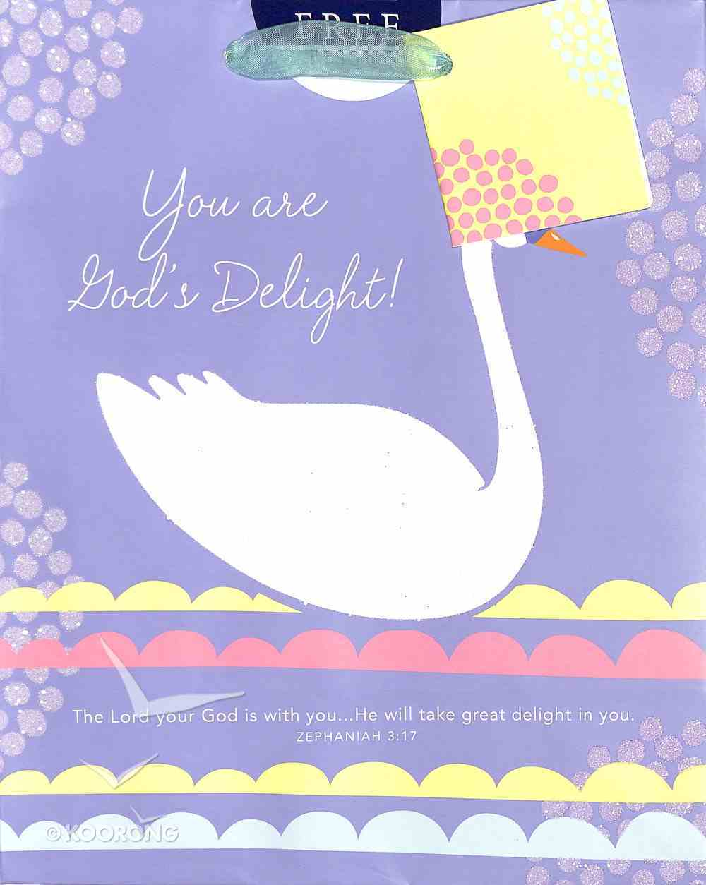 Gift Bag Medium: God's Delight (Incl Tissue Paper And Gift Tag) Stationery