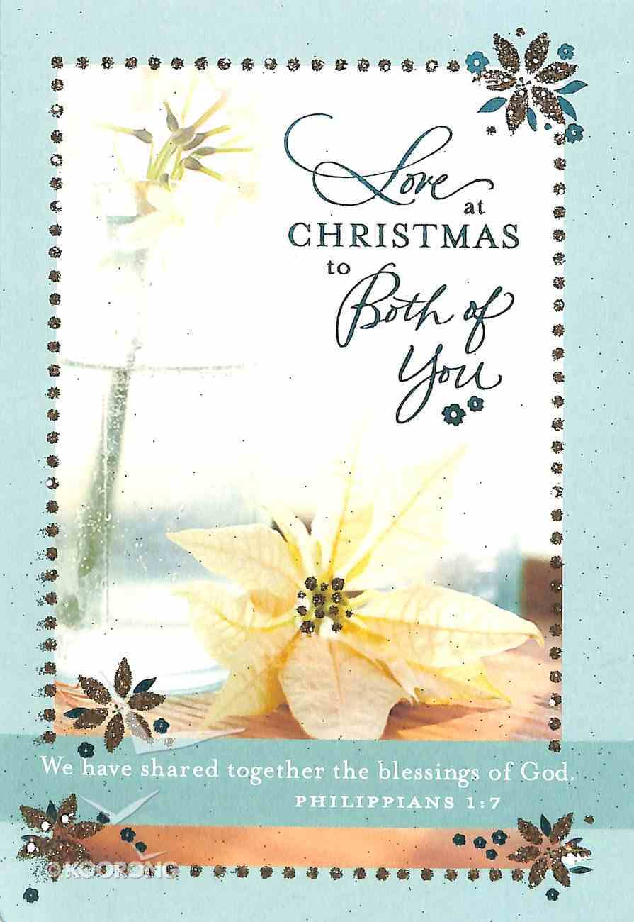 Christmas - to Both of You Cards