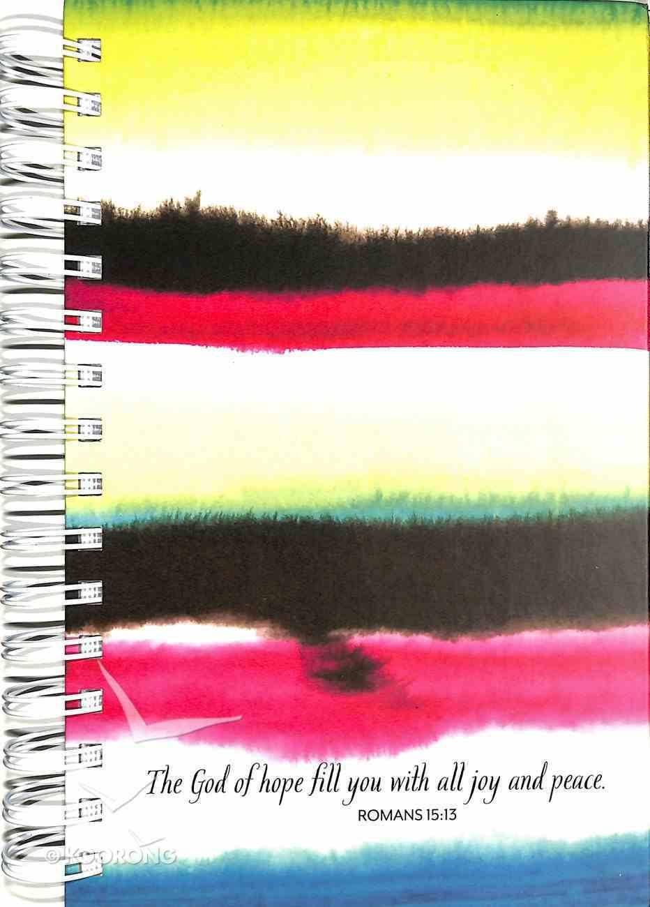 Spiral Journal: Watercolor (Romans 15:13) Spiral