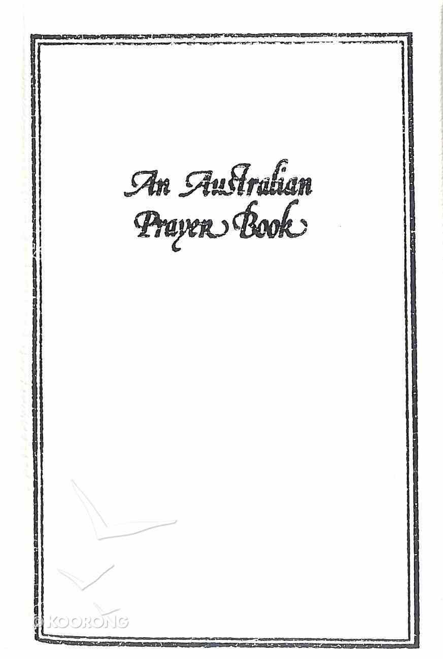 An Australian Prayer Book (White) Hardback