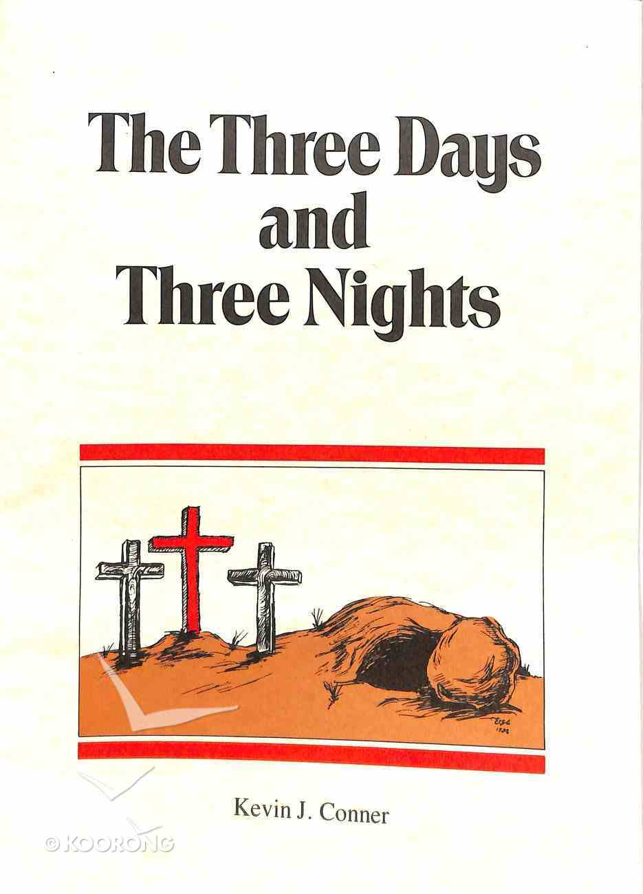 The Three Days and Three Nights (With Charts) Booklet
