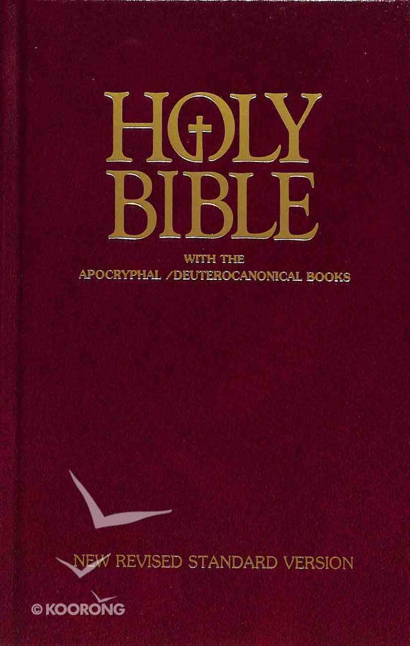 NRSV Catholic Edition With Apocrypha Hardback