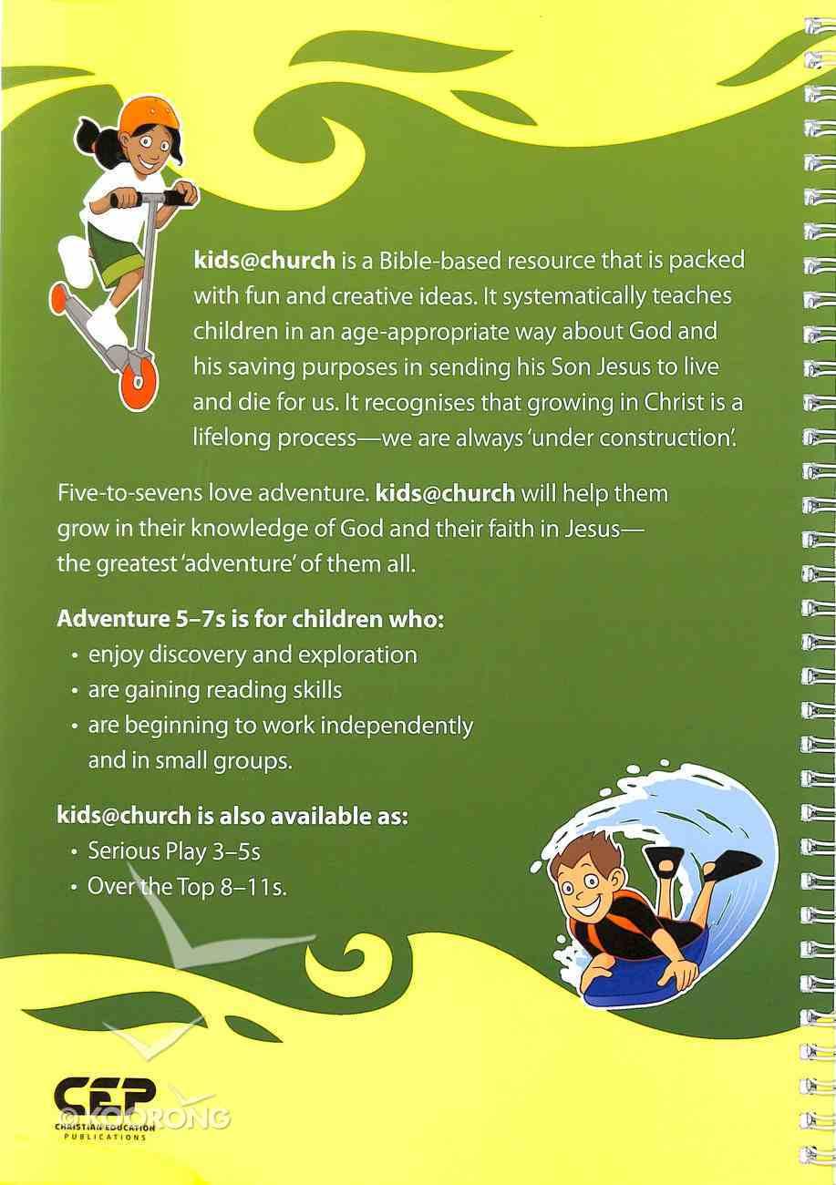 Kids@Church 01: Ad1 Ages 5-7 Teacher's Manual (Adventure) (Kids@church Curriculum Series) Spiral