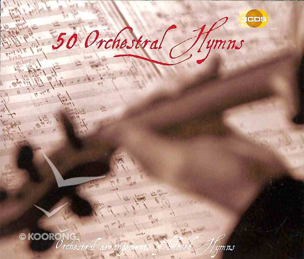50 Orchestral Hymns Triple CD Pack CD