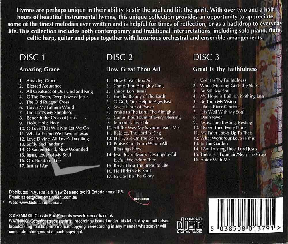 50 Golden Hymns Instrumental (3 Cd) CD