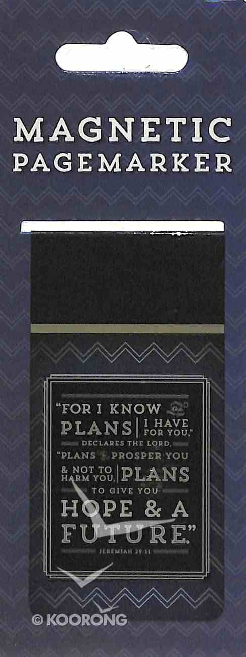 Bookmark Magnetic Large: For I Know the Plans I Have For You Stationery